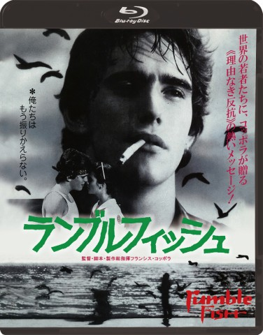 7/18(水)フランシス・フォード・コッポラ監督作『ランブルフィッシュ』Blu-ray発売決定!